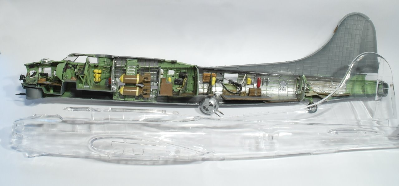 It Would Be A Pity Just To Hide All The Nice Interior Stuff Behind A Solid  Fuselage.