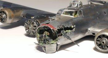 b 17 crash landing